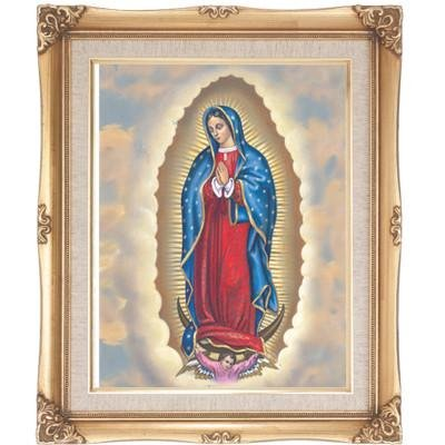 Our Lady of Guadalupe Framed Art by Discount Catholic Store