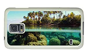 Hipster Personalized custom Samsung Galaxy S5 Cases Beach Underwater PC White for Samsung S5