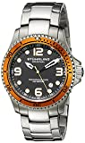 Stuhrling Original Men's 593.332I11 ''Aquadiver Grand Regatta'' Diver Watch with Stainless Steel Link Bracelet