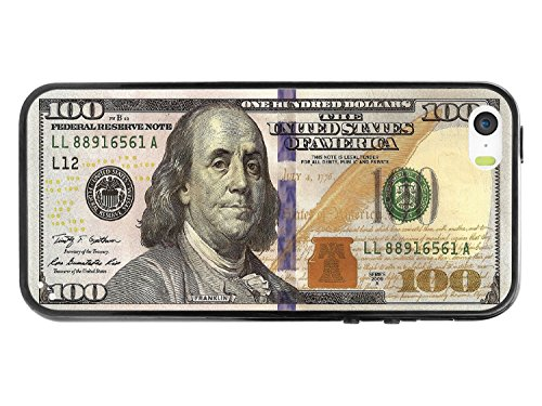 Cellet New One Hundred Dollar Bill Design Proguard Case for Apple iPhone 5/5s - White