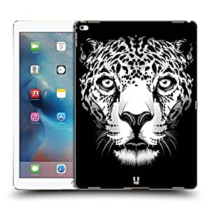 Head Case Designs Leopard Big Face Illustrated Hard Back Case for Apple iPad Pro 12.9