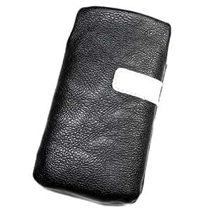 Funda Pochette de piel sintética negro M para LG KE820