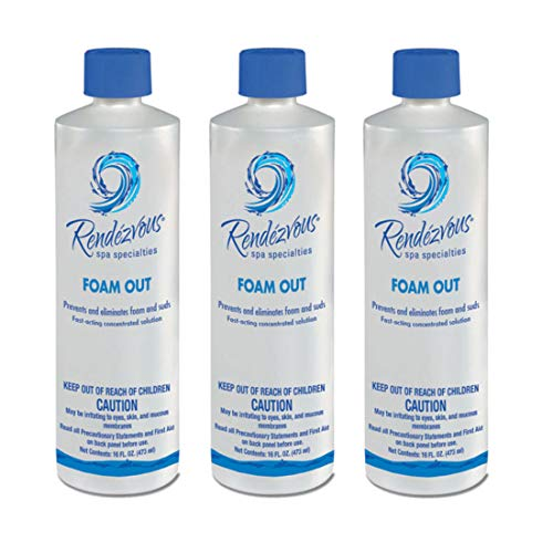 Rendezvous Spa Specialties Foam Out (1 pt) (3 - Out Clarifier Water