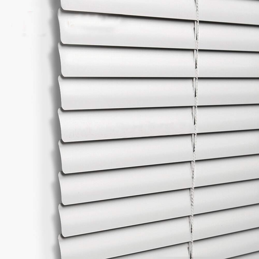 Taiyuhomes Aluminum Horizontal Window Mini Blinds Blackout Roll Up Shades 1 Inch Slats with Easy Inside and Outside Mount,23 1//2x64 Inch,Grey