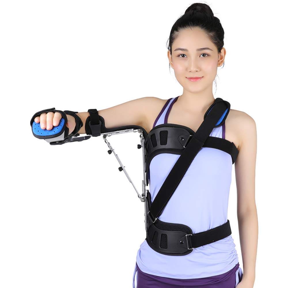 QETU Shoulder Abduction Brace,Adjustable Shoulder Joint Fixed Support Shoulder Dislocation Fixed Protective Gear,Righthand
