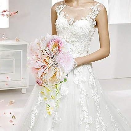 Bouquet A Goccia Sposa.Goccia D Acqua Corallo Rosa Peonia Sposa Bouquet Fiore Farfalla