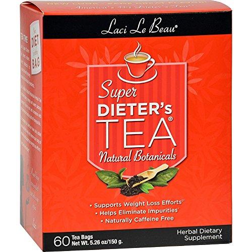 - Natrol Laci Le Beau Super Dieter's Tea, 60 Count