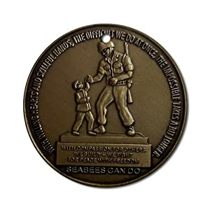 CafePress SeaBee Monument NMCB Ornament (Round) Round Holiday Christmas Ornament from CafePress
