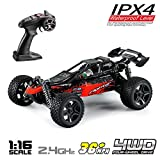 Hosim 1:16 Scale 4WD Remote Control RC Truck G171, High Speed Racing Vehicle 36km/h Radio Controlled Off-Road 2.4Ghz RC Car Electronic Monster Hobby Truck R/C RTR Car Buggy for Kids Adults Birthday