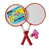 Kid's Badminton Sets Children Indoor/Outdoor Sports Toy Ball Game-Morange