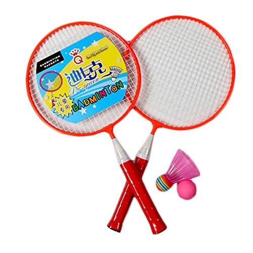Kid's Badminton Sets Children Indoor/Outdoor Sports Toy Ball Game-Morange by Kylin Express