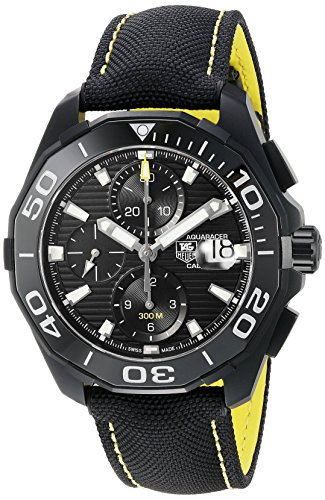 Tag Heuer Aquaracer Black Dial Auotomatic Mens Watch CAY218A.FC6361