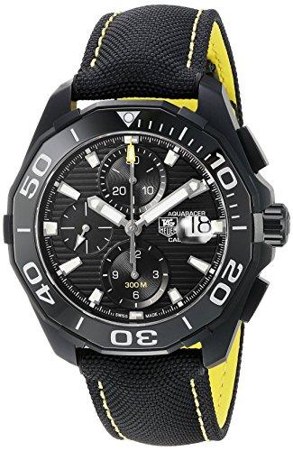 ساعت مچی مردانه CAY218A.FC6361 اتوماتیک مردانه Tag Heuer Aquaracer Black Dial Black