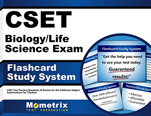CSET Biology/Life Science Exam Flashcard Study System: CSET Test Practice Questions & Review for the California Subject Examinations for Teachers (Cards) by Mometrix Media LLC