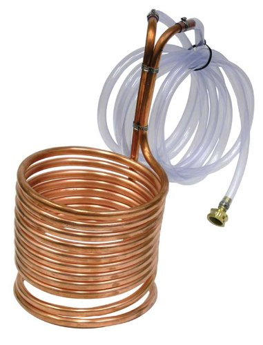 Super Efficient 8'' Compact Immersion Wort Chiller