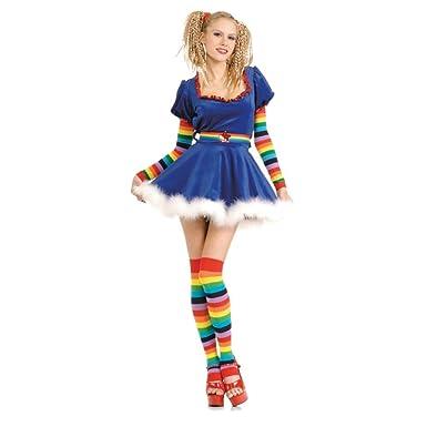 Amazon.com: Secret Wishes Sexy disfraz de arco iris niña ...