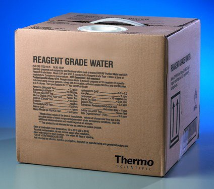 Water, High Purity Reagent Grade - 5 Gallon (5 Gallon) -