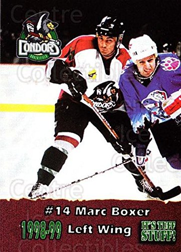 (CI) Marc Boxer Hockey Card 1998-99 Bakersfield Condors 4 Marc Boxer ()