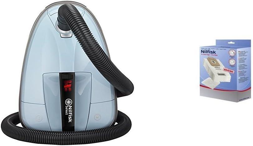 Nilfisk 128350604 - Aspirador trineo, 220-230V + Kit con bolsas de ...