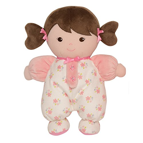 Small Baby Gift - Baby Starters Brunette Olivia Doll, Pink