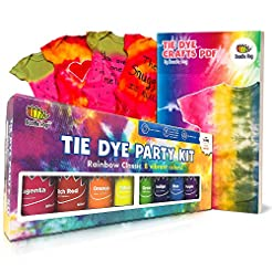 Doodlehog Easy Tie Dye Party Kit for Kid...