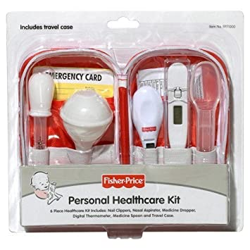 Amazon.com: Fisher-Price 6pc. Healthcare Kit con estuche de ...