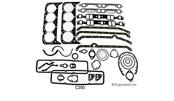 Enginetech C350 Gasket GM 283 302 307 327 350