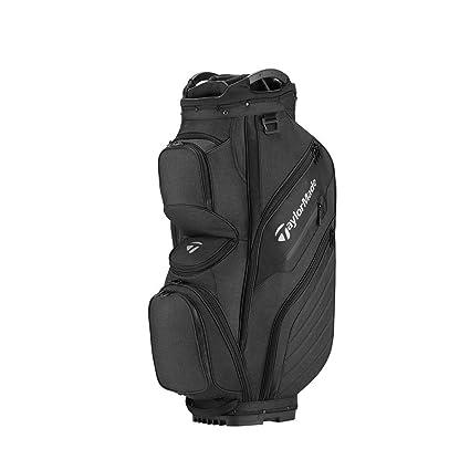 f672f4e17f Amazon.com : TaylorMade Supreme 2018 Cart Bag (Black) (Black ...