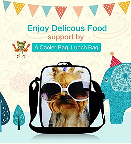 Amazon.com: Generic Family Picnic Bag Sling Lunch Bag for Students ...