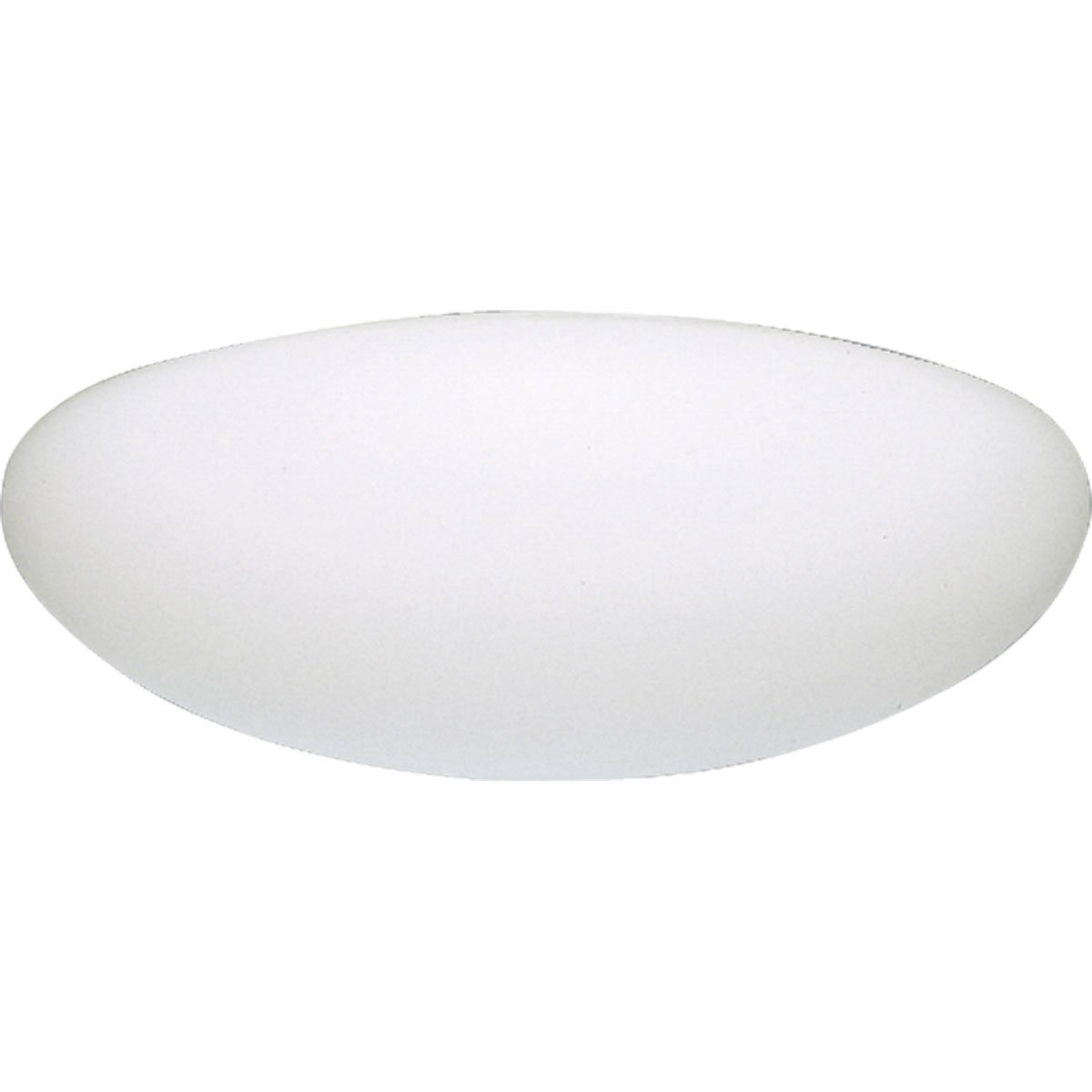 Progress Lighting P7310-60EB White Contoured Acrylic Clouds Float Off The Ceiling Regressed White Chassis Wall Or Ceiling Mount with Standard 120 Volt High Power Factor Electric Ballasts, White