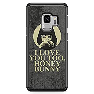 Loud Universe Honey Bunny Samsung S9 Case Pulp Fiction Mia Wallace quote Samsung S9 Cover with Transparent Edges