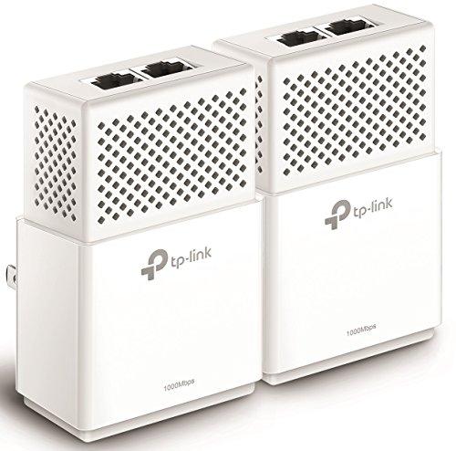 TP-Link AV1000 2-Ports Gigabit Powerline ethernet adapter kit, Powerline speeds up to 1000 Mbps (TL-PA7020 KIT_V2) by TP-Link (Image #2)