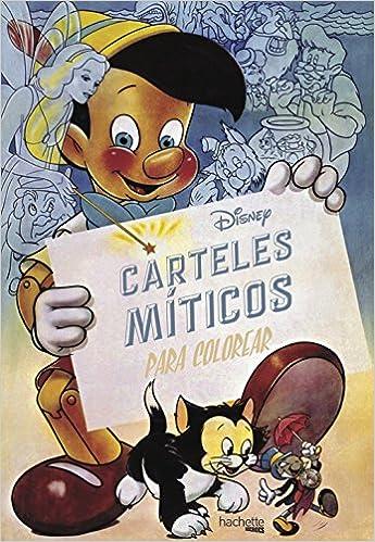 Disney Carteles Míticos Para Colorear Hachette Heroes