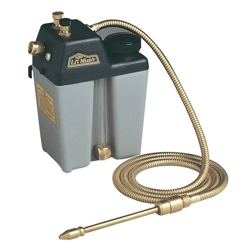 Trico HDPE Lil Mister System with Brass Line, 1 qt Capacity, 5-1/4'' Width x 8-1/2'' Height x 4'' Depth by Trico
