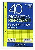 RICAMBI A5 QUADRI 5MM 40FF
