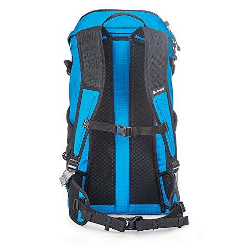 Pacsafe Venturesafe X30 Anti-Theft Adventure Backpack, Hawaiian Blue by Pacsafe (Image #2)
