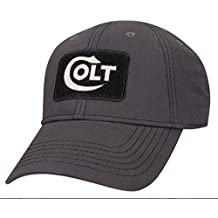 Colt Firearms Baseball Cap Grey With Black Embroidered Logo Reef