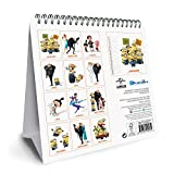 Despicable Me 3 Official Desk Easel 2018 Calendar - Month To View Desk Format