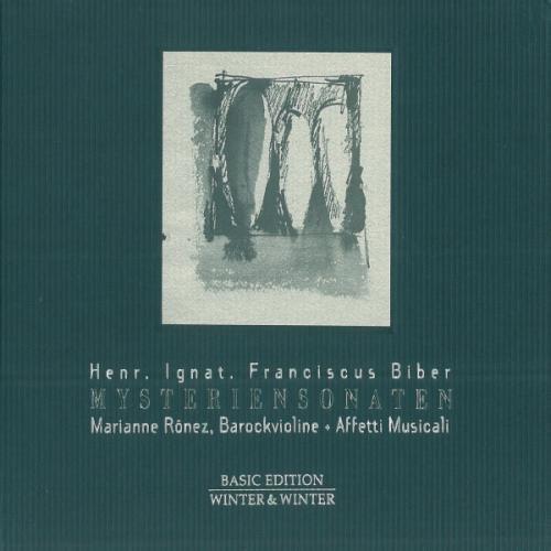 - Biber: Mystery Sonatas /R??nez ??Affetti Musicali by Heinrich Ignaz Franz von Biber (1998-09-12)