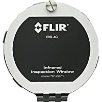 FLIR 19252-100 Infrared Inspection Window, 4 in.