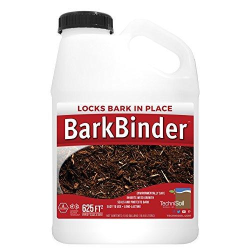 BarkBinder Bark/Mulch Stabilizer & Sealer (1-Gallon Bottle) by TechniSoil