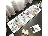 Gelaiken Durable Baby Crawling Mat Folding Yoga Mat Children's Mat Living Room Home Game Pad(Rabbit)