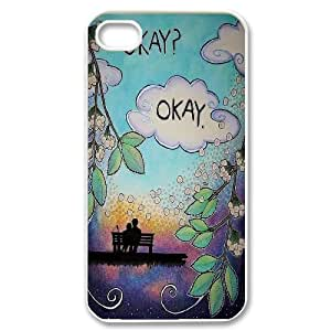 2014 New & Fashion Star The Fault in Our Stars Okay?okay. phone Case Cover for Apple iPhone 4 4S ART104791 wangjiang maoyi by lolosakes