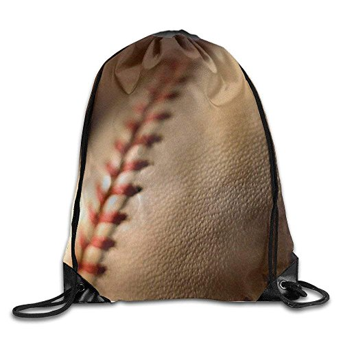 Price comparison product image Baseball Drawstring Gym Sport Bag,  Large Lightweight Gym Sackpack Backpack For Men And Women