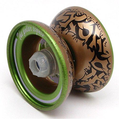 jouet Caxmtu 1 pi/èce Magic Yo-yo /à roulement /à billes en alliage de m/étal cadeau pour gar/çons