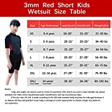 REALON Kids Wetsuit Shorty Full 3mm Premium