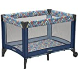 Babies R Us Cribs and Changing Tables Cosco Funsport Play Yard | 4 Mesh Sides with Padded Floor Let Baby see the action (Leafy)