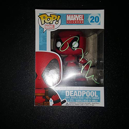 Ryan Reynolds - Autographed Signed DEADPOOL FUNKO POP 20 Vinyl Figure - MARVEL UNIVERSE Comics - Wade Wilson