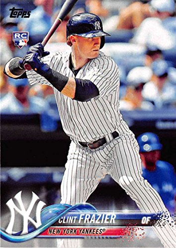 2018 Topps #7 Clint Frazier New York Yankees Rookie Baseball Card