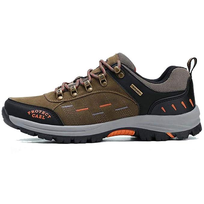 FCBDXN Zapatos De Otoño Para Hombre De Los Deportes Que Caminan Que Caminan Calzado Al Aire Libre Zapatillas De Trekking Zapato De Escalada De Montaña ...